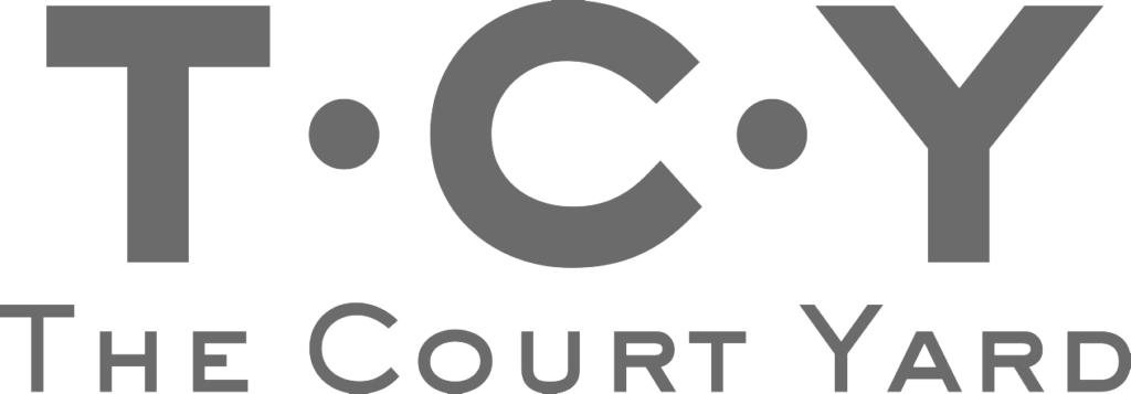 The Court Yard Restaurant Deal CT14 Logo-White-Background